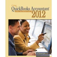 Using Quickbooks Accountant 2012 for Accounting (with  Data File CD-ROM)