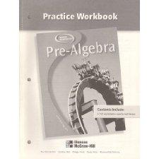 pre algebra student edition mcgraw hill