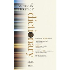 the american heritage dictionary 5th edition