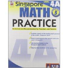 Singapore Math Practice, Level 4A, Grade 5 by Frank Schaffer