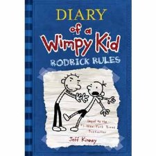Diary Of A Wimpy Kid Rodrick Rules By Jeff Kinney 9780810994737