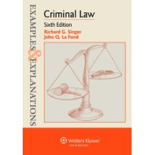 examples explanations criminal law sixth edition