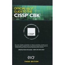 Favorit book official isc2 guide to the cissp cbk third edition.