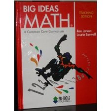 BIG IDEAS MATH: Common Core Teacher Edition Red 2014 by HOLT
