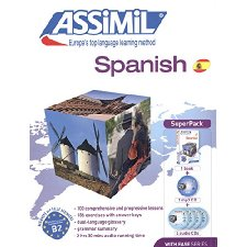 Assimil Spanish with Ease SUPERPACK [ Book + 4 audio CDs + 1 CD mp3